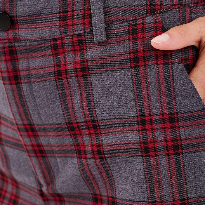 Pantalon cargo gris femme