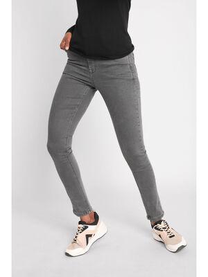 Pantalon skinny push up 78eme gris fonce femme