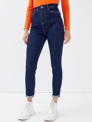 Jeans skinny denim brut femme
