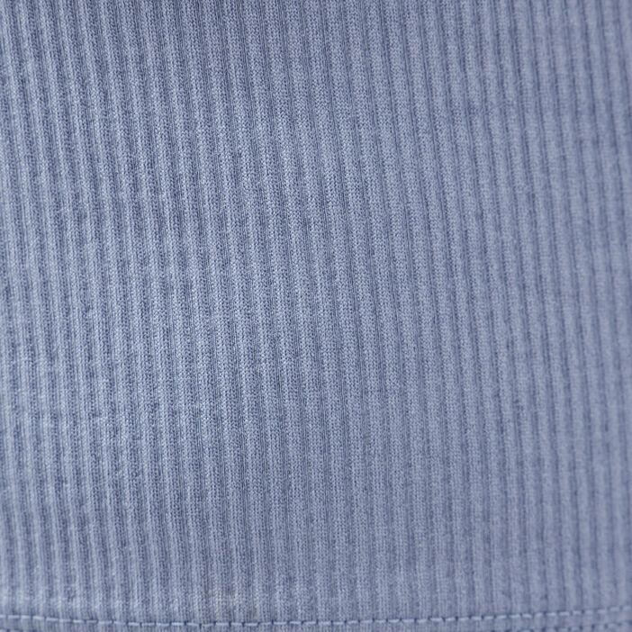 Débardeur bretelles larges bleu gris femme