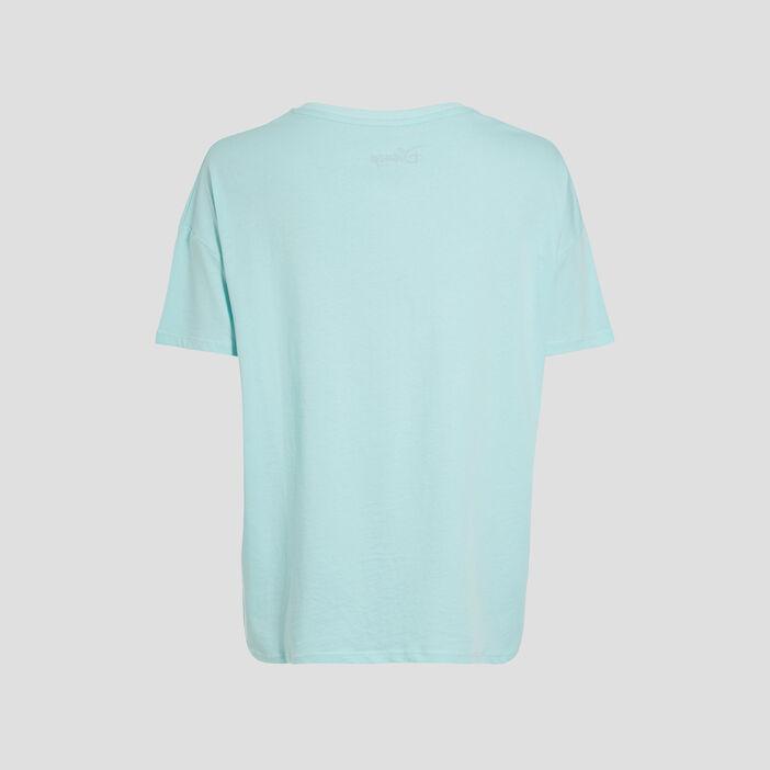 T-shirt Le Livre de la jungle vert turquoise femme