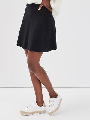 Jupe patineuse noir femme