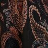 Robe longue evasee asymetrique violet fonce femme