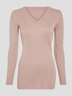 Leggings cotele marron clair femme