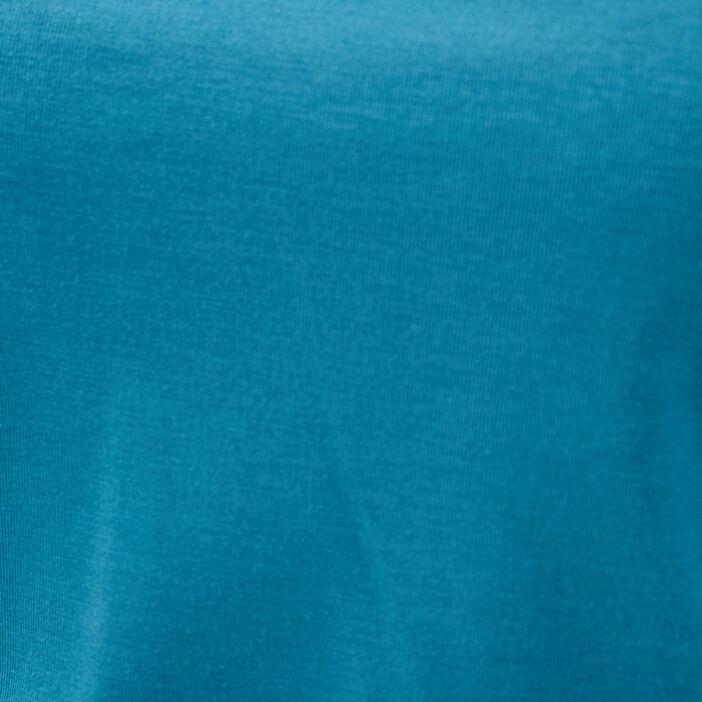 T-shirt manches courtes bleu canard femme