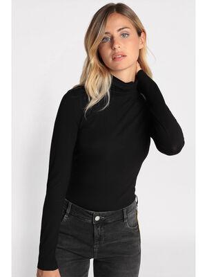 T shirts manches longues noir femme