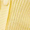Gilet manches 34 boutonne jaune pastel femme