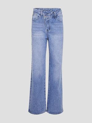 Jeans regular denim double stone femme