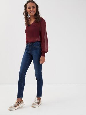 Jeans skinny push up denim stone femme