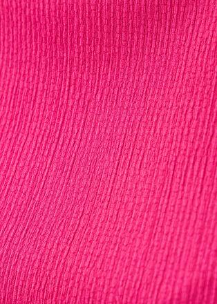 T shirt manches courtes rose fushia femme