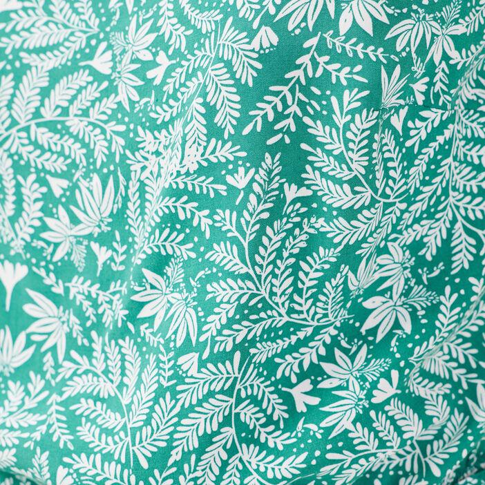 Blouse bretelles fines vert femme