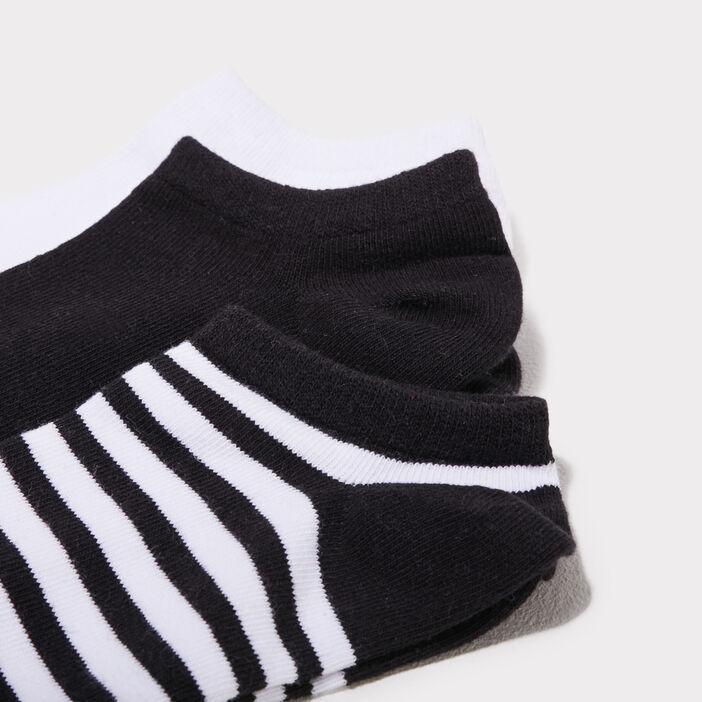 Lot 4 paires socquettes noir femme
