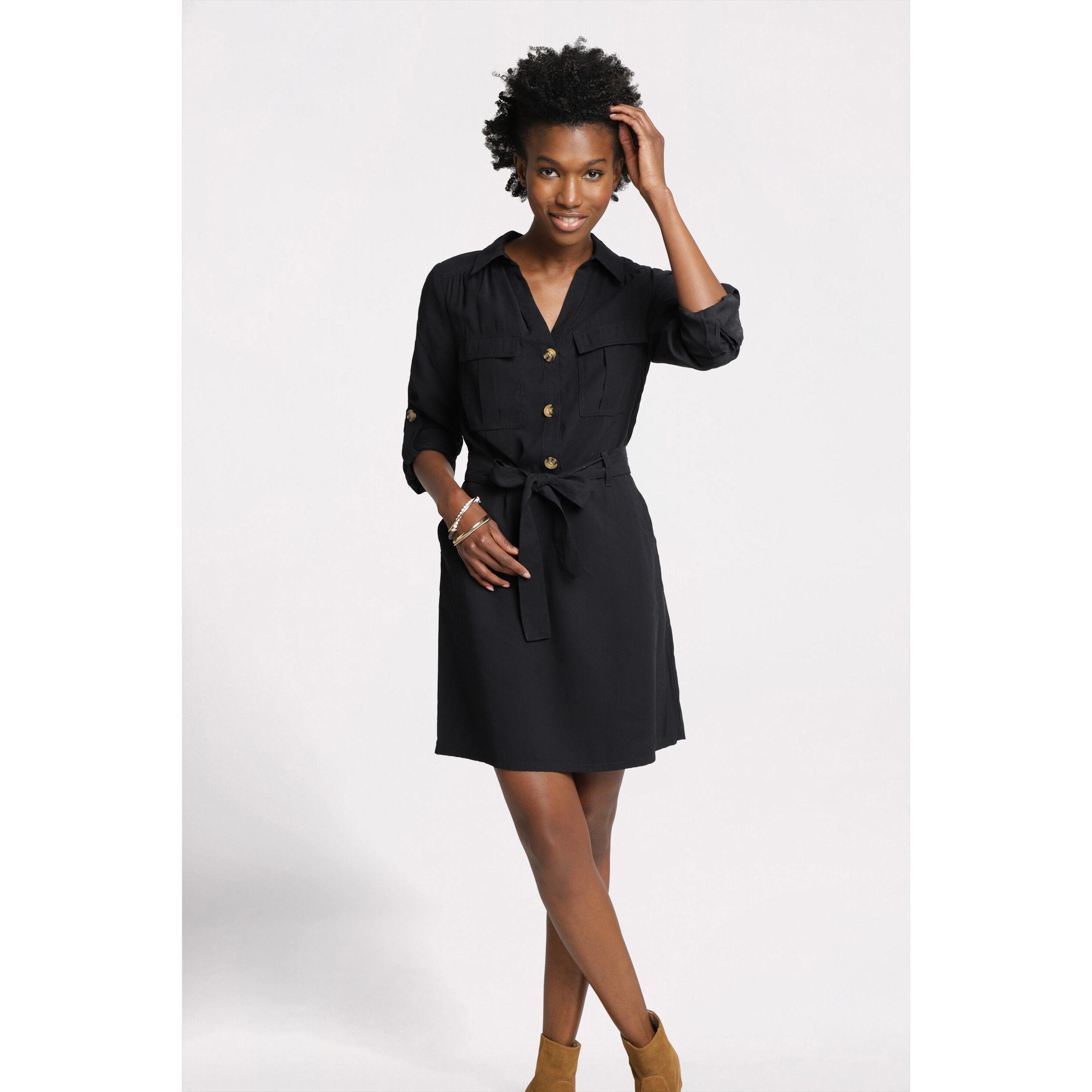 Noir FemmeVib's Noir Robes Cachecache FemmeVib's Robes Cachecache Robes Cachecache Noir TJK1ulF3c