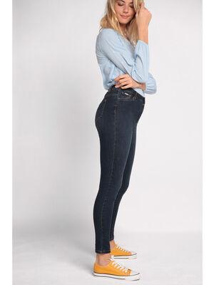 Jeans skinny effet denim denim brut femme