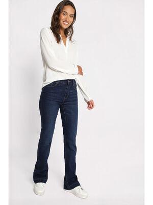Jeans bootcut denim stone femme