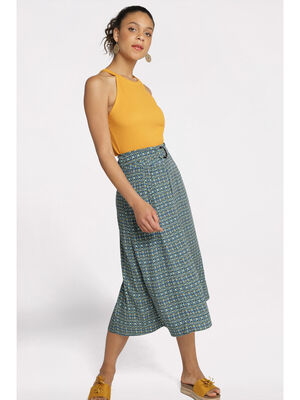 Jupe droite taille standard noir femme