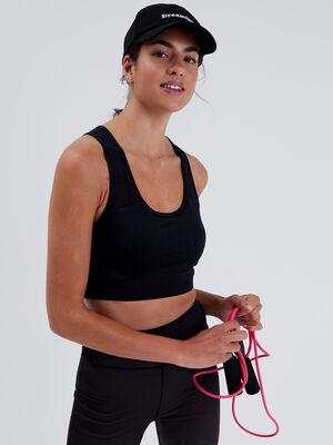 Brassiere de sport noir femme