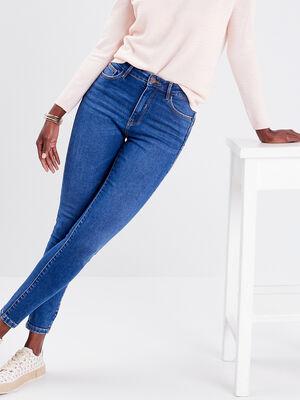 Jeans skinny push up denim baby bleu femme