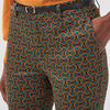 Pantalon 78eme a ceinture noir femme