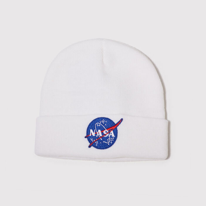 Bonnet NASA ecru femme