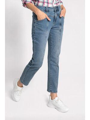 Jeans regular denim stone femme