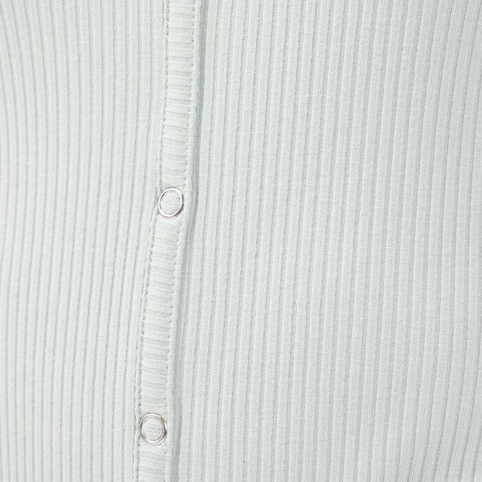 T-shirt manches 3/4 vert clair femme