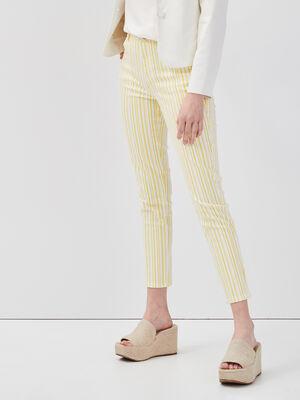Jeans slim blanc femme