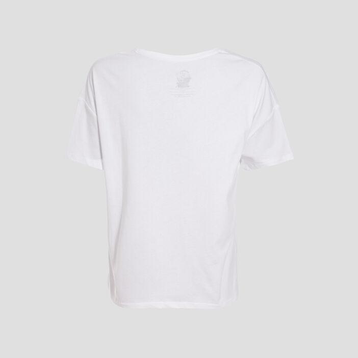 T-shirt Tom et Jerry blanc femme