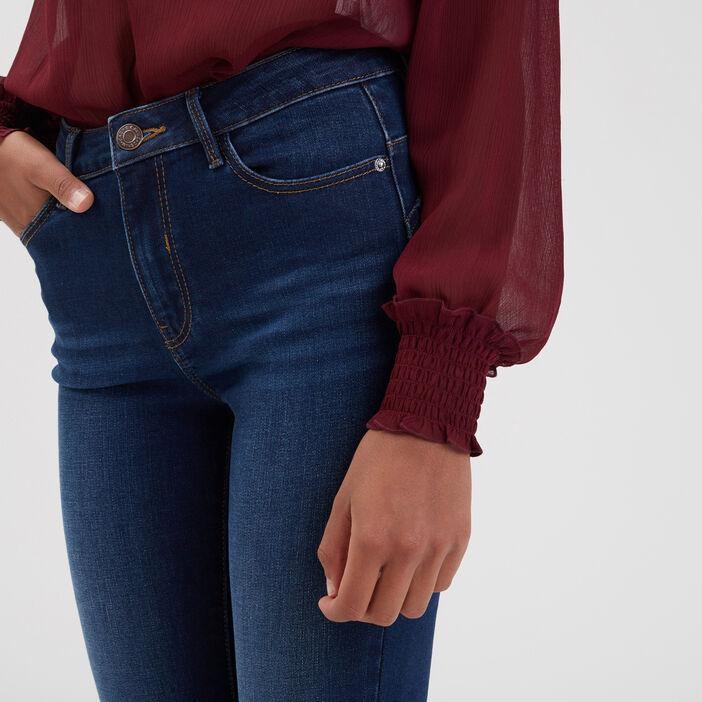 Jeans skinny push-up denim stone femme