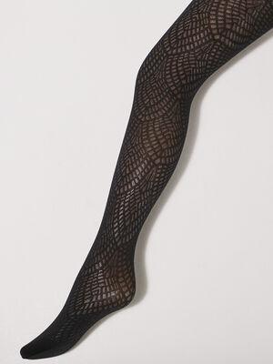 Collants fantaisie noir femme