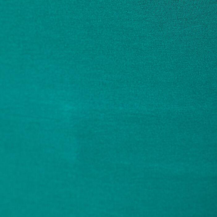 Débardeur liserés dentelle vert femme