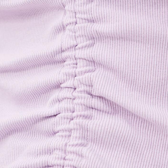 T-shirt manches longues mauve femme