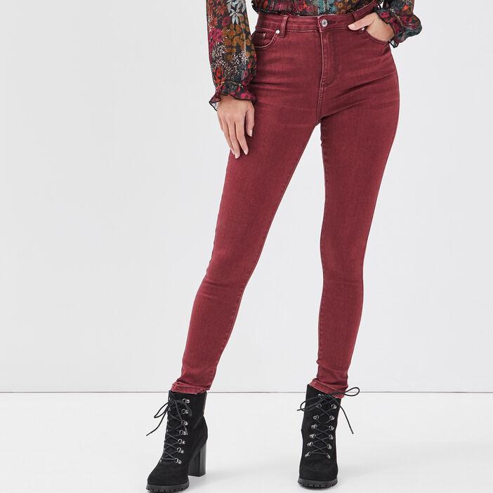 Pantalon skinny prune femme