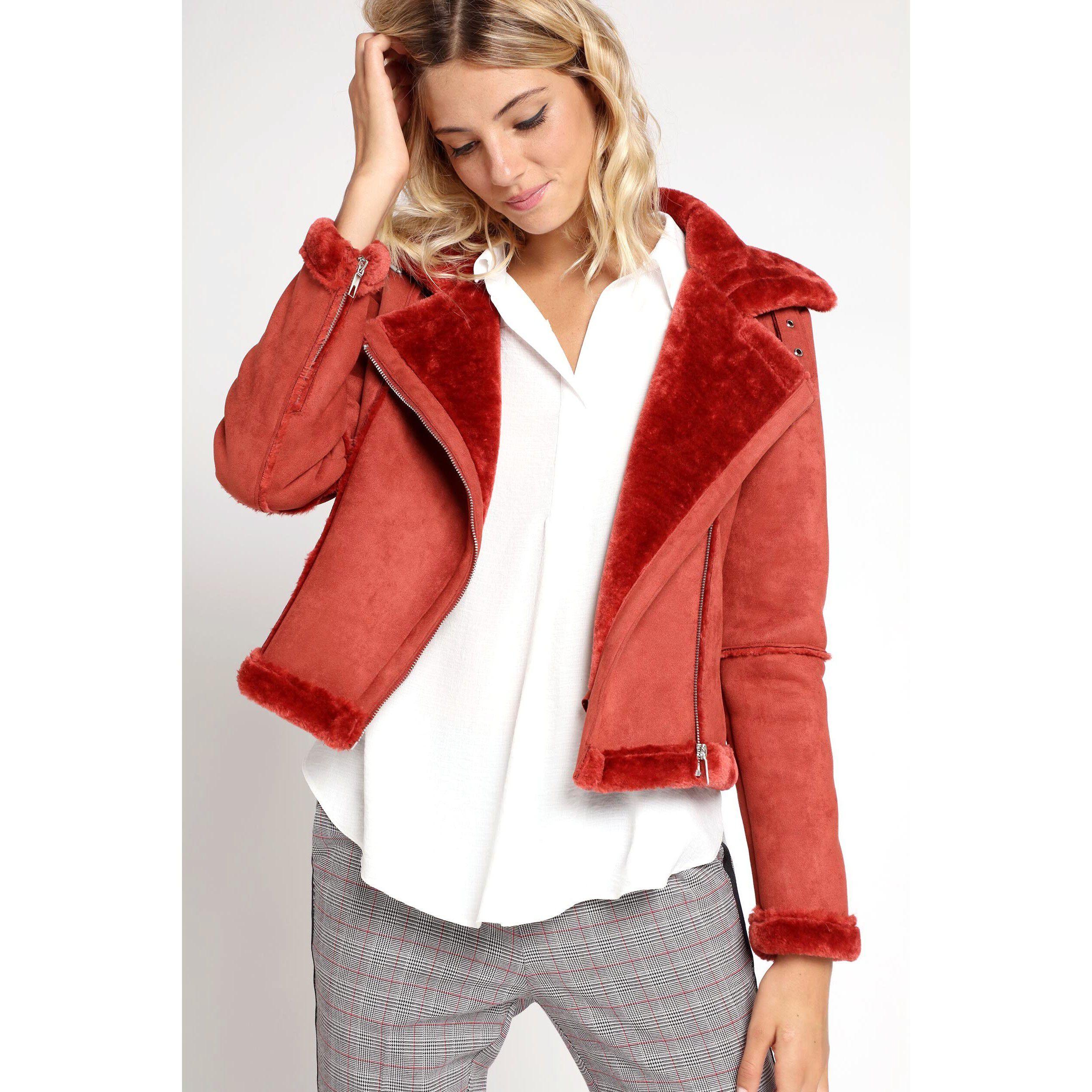 Vestes et manteaux rouge 42 femme | Vib's