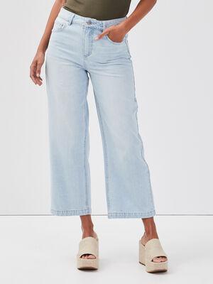 Jeans flare 78eme denim bleach femme