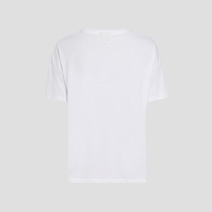 T-shirt Les Simpson blanc femme