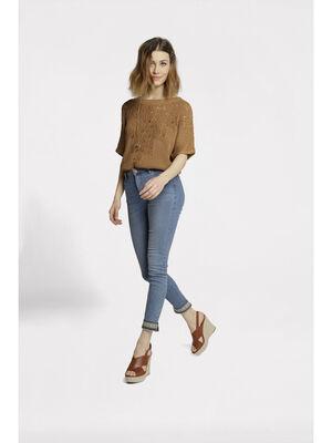 Jeans skinny taille standard denim double stone femme