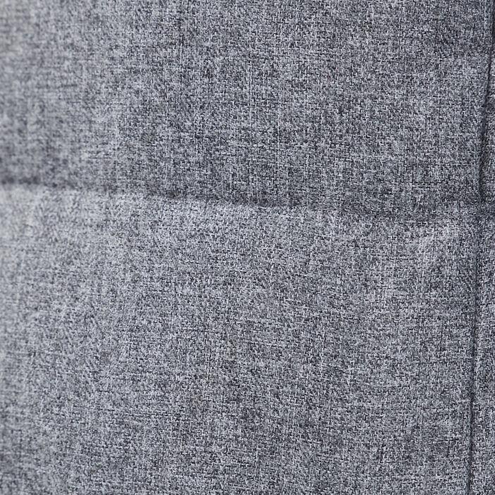 Doudoune avec capuche gris clair femme