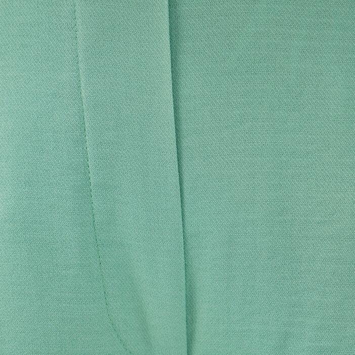 Pantalon large fluide vert clair femme