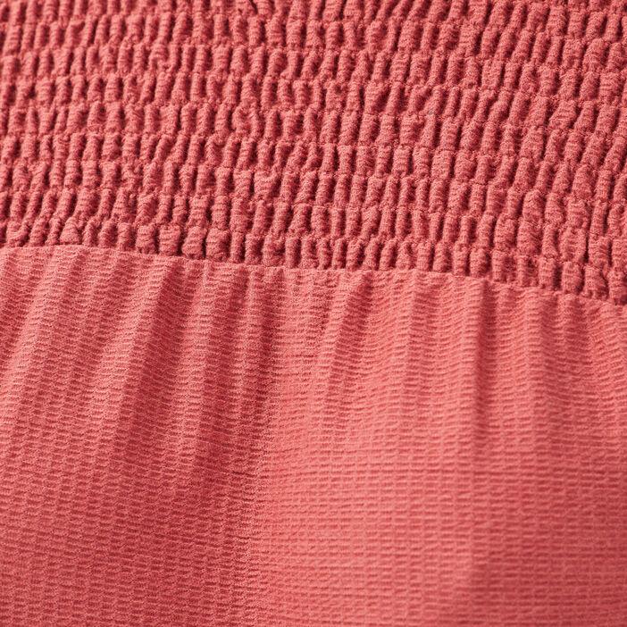 T-shirt manches longues vieux rose femme