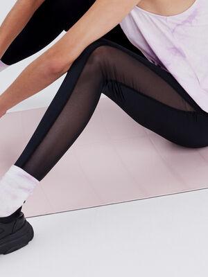 Leggings taille haute noir femme