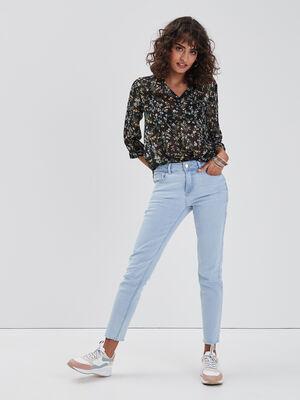 Jeans skinny 78eme denim bleach femme