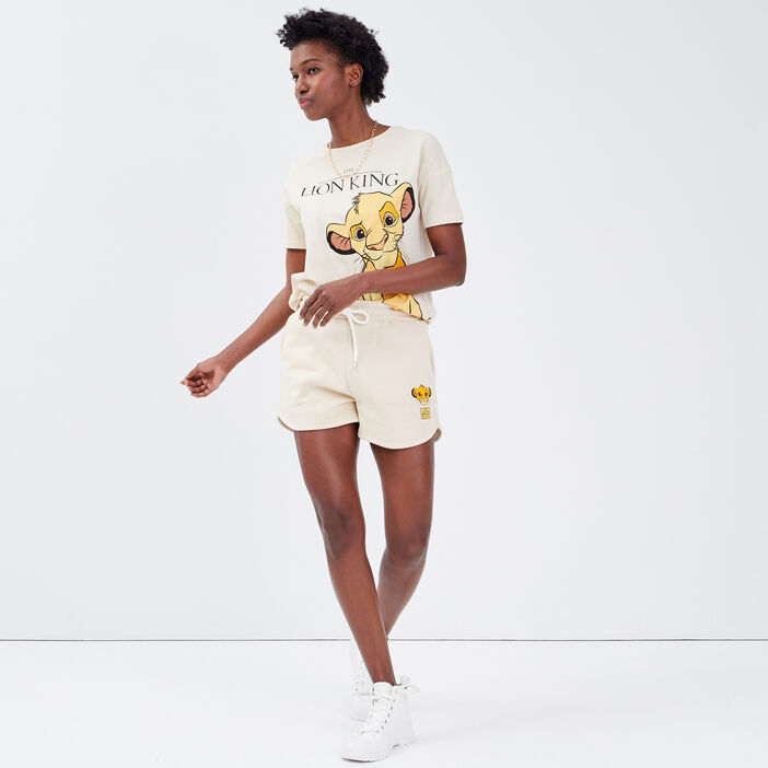 Short ample Le Roi lion sable femme