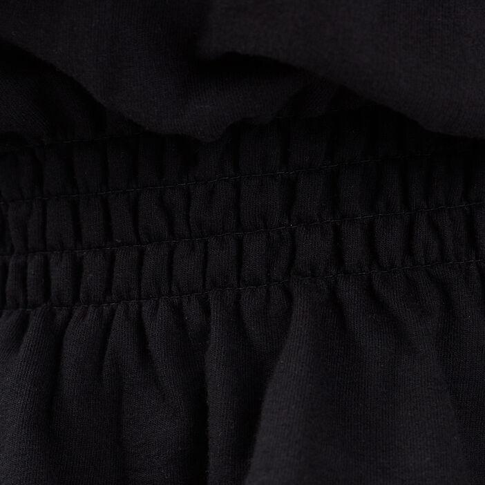 Sweat manches longues noir femme