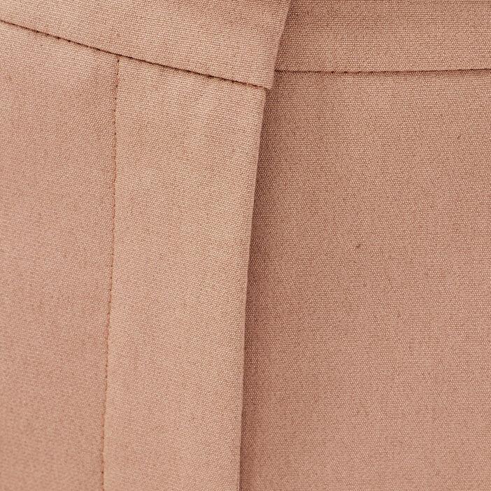 Pantalon cigarette ceinturé sable femme