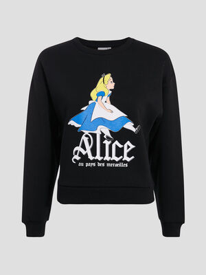 Sweat Alice noir femme