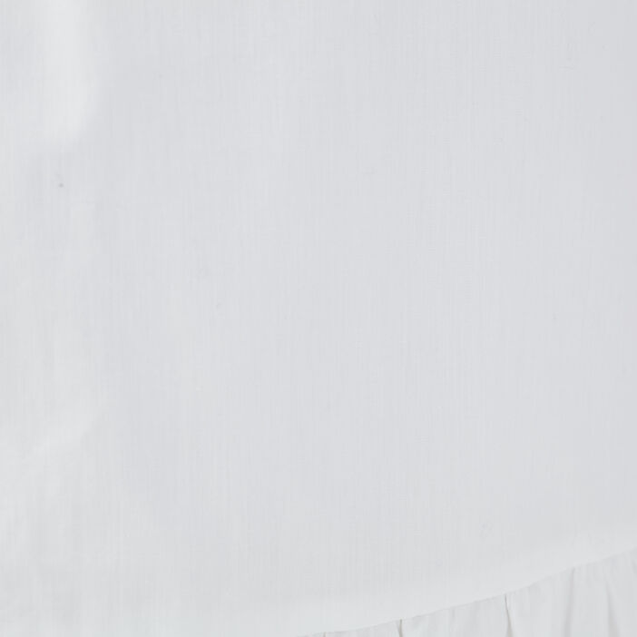 Jupe évasée blanc femme