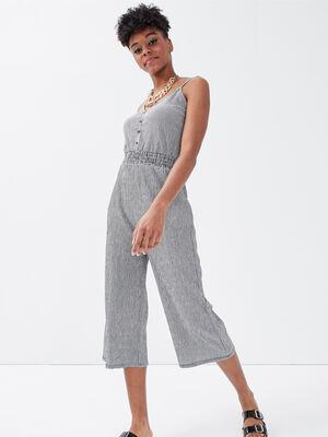 Combinaison pantalon 78eme blanc femme