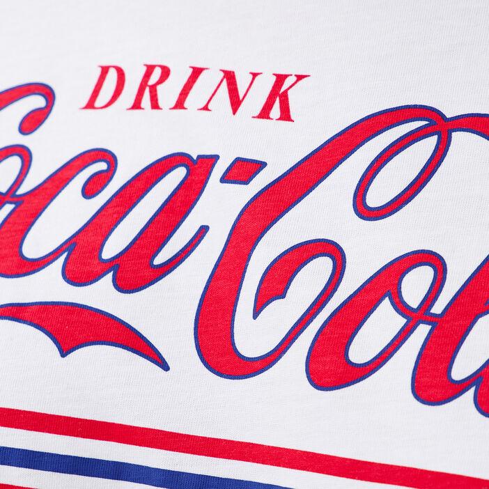 T-shirt Coca-Cola ecru femme