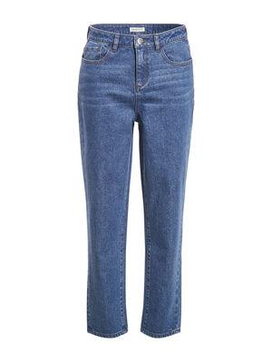 Jeans regular delave denim stone femme